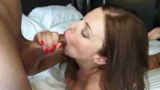 Cheating slut caught! Blackmailed for a turn at her tight little pussy