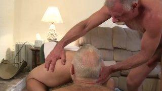 Son, daddy and grandpa