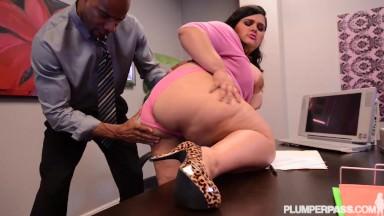 Big Booty Latina BBW Karla Lane Loves Big Black Cock